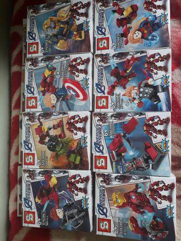 Lego Coleção completa vingadores