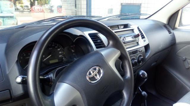 Toyota Hilux 4x4 turbo diesel 3.0 14/14 Manual,carro novo oportunidade!!! - Foto 7