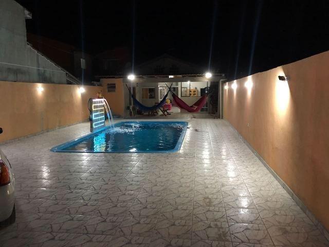 Praia Brava Ar-condicionado Piscina Sala Jogos Caioba DVic´z Casa 15 pessoas - Foto 3