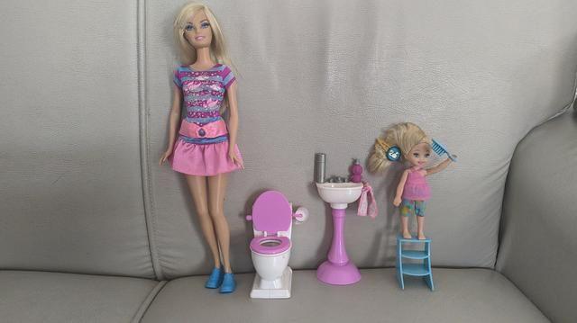 Barbie quero ser Dentista e Barbie quero ser Babá - Colecionador - Foto 4