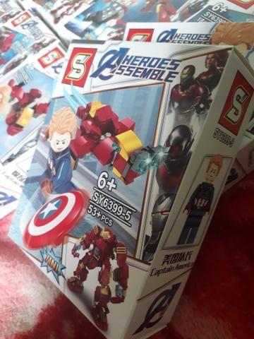 Lego Coleção completa vingadores - Foto 5