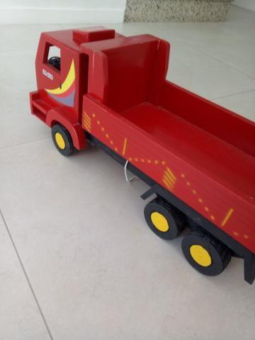 Caminhão de madeira - retirar no centro de Curitiba - Foto 4