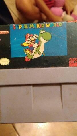Cartucho Mario word original