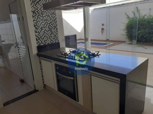 Casa com 3 dormitórios para alugar, 230 m² por R$ 4.400,00/mês - Parque Residencial Damha  - Foto 8