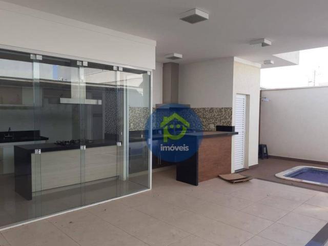 Casa com 3 dormitórios para alugar, 230 m² por R$ 4.400,00/mês - Parque Residencial Damha  - Foto 3
