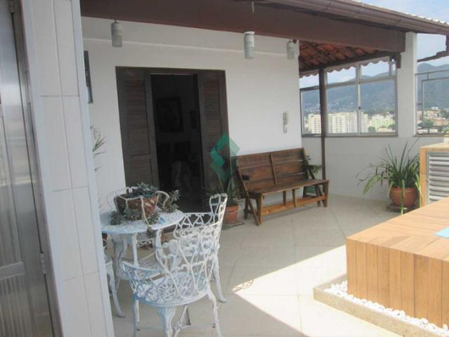 Cobertura à venda com 3 dormitórios em Cachambi, Rio de janeiro cod:M6245 - Foto 2