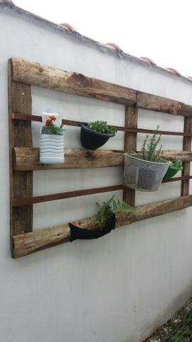 Arte em tocos, para plantas - Foto 5