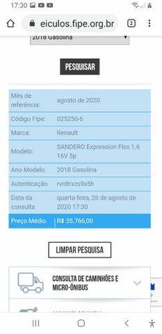 Sandero 2018 expression flex 1.6 - Foto 11