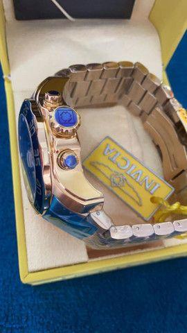 Relógio Invicta Pro Diver Lançamento Dourado a prova d'água - Foto 5