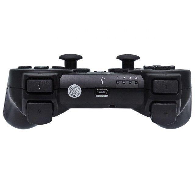 Controle Manete joystick sem fio Wireless Playstation 3 Play3 Play 3  - Foto 6