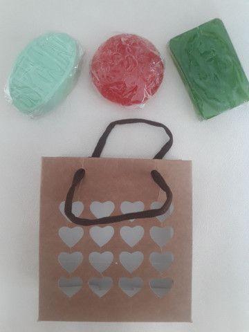 Kit com 3 sabonetes artesanal  varias fragrâncias