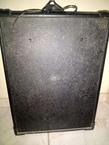 Caixa de som wordstar Vendo ou troco por um Contra baixo  - Foto 2