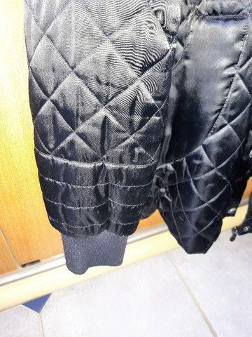 Jaqueta de Inverno Nylon Preta  - Foto 6