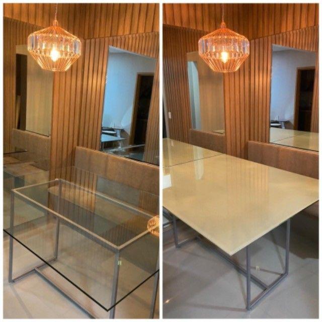Plotagem mesas, janelas, portas, blindex, sacadas etc - Foto 4