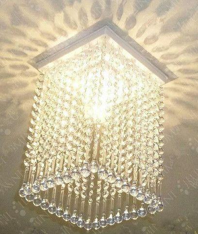 Lustre de cristal acrílico - Foto 2