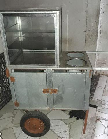 Vendo carrinho de cachorro quente e lanche - Foto 2