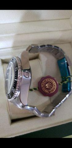 Relógio Rolex Deepsea Gas Escape automático a prova d'água Completo - Foto 4