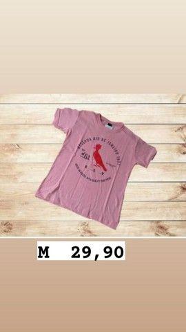 Camisetas masculinas  tamanho M - Foto 4