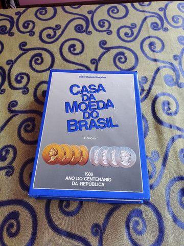 Livro Casa da Moeda do Brasil