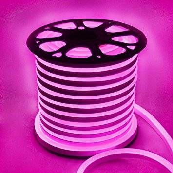 Mangueira de LED Neon 110v corte 50cm - 3 metros , Rosa e Azul - Foto 3