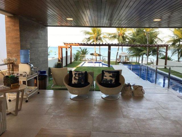 vende-se casa a beira mar em praia dos carneiros - Foto 2