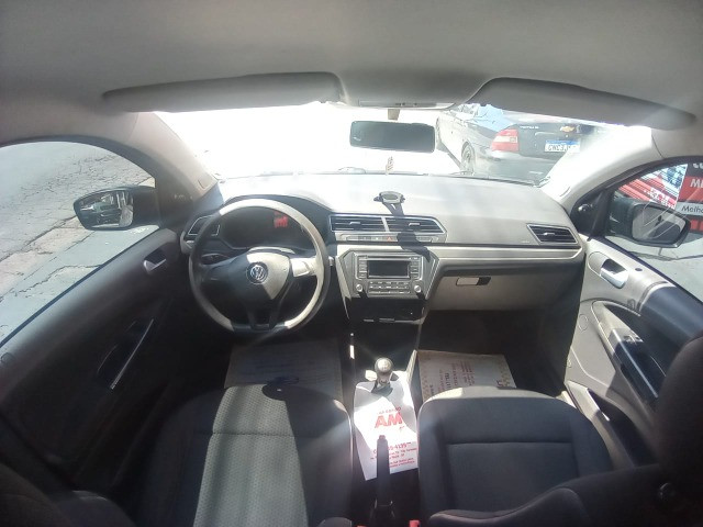 VW/ Voyage 1.6 MSI ? Completo ? Baixo KM ? 2018  - Foto 10