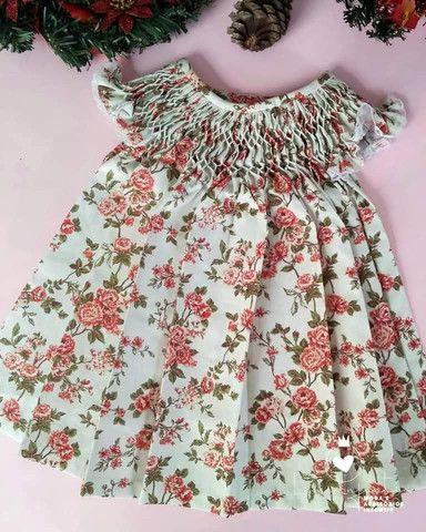 Vestido Casa de Abelha - M (3 a 6 meses)