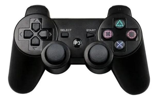 Controle Manete joystick sem fio Wireless Playstation 3 Play3 Play 3