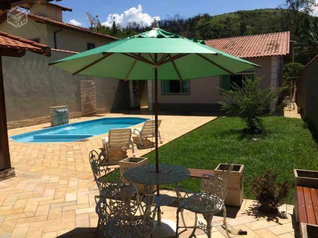 Casa com piscina e sauna em Pinheiral