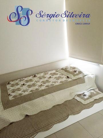 Apartamento à venda no Porto das Dunas com 3 quartos todo projetado Mediterranee - Foto 4