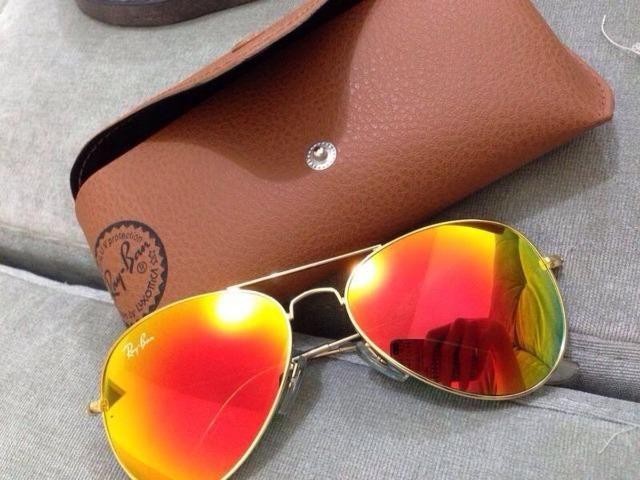 088002fa7df35 ... ireland Óculos de sol ray ban aviador espelhado vermelho laranja rb3025  3026 unissex 94d97 64b5c