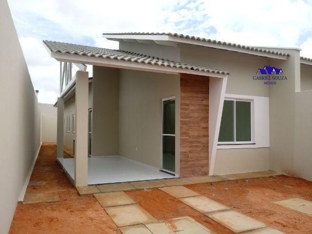 Casas planas px ao Centro do Eusébio com 2 Suítes em Rua privativa