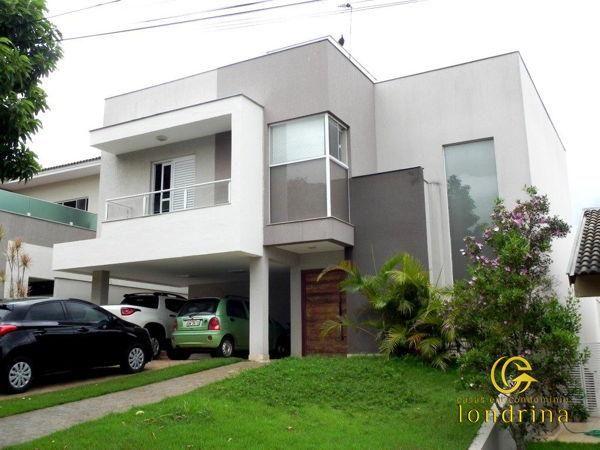 Casa sobrado em condomínio com 3 quartos no Condomínio Royal Forest Residence - Bairro Con