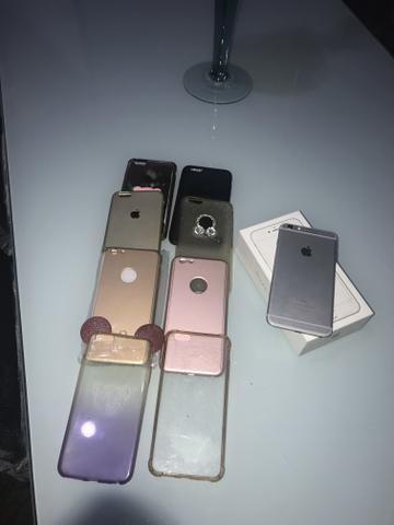 Iphone Vendo Ou Troco Por Um IPhone 7 Plus Com Volta Minha - Foto 2