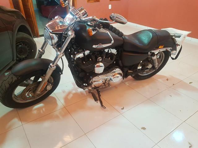 Harley-davidsonsportster 1200 xl custom - Foto 5