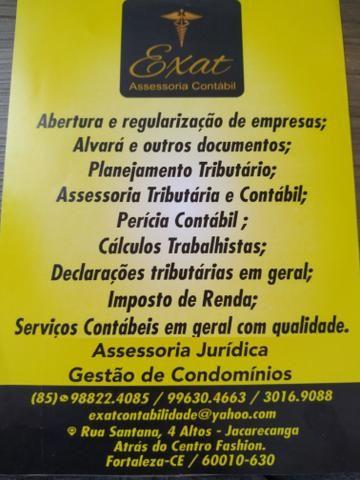Serviços contábeis e Consultoria Empresarial