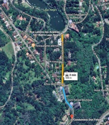 Terreno à venda, 869 m² por r$ 180.000,00 - lago negro - gramado/rs - Foto 10