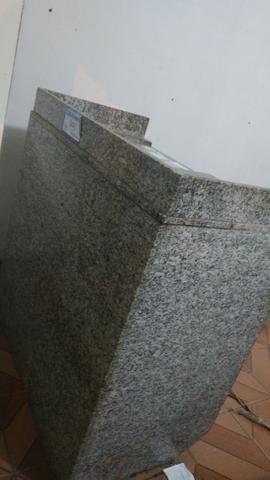 Balcão Caixa de granito