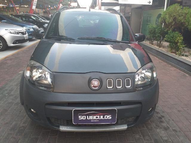 Fiat Uno Way 1.0-2011/2012-Loja Só Veiculos-3305-8646/9  * - Foto 3