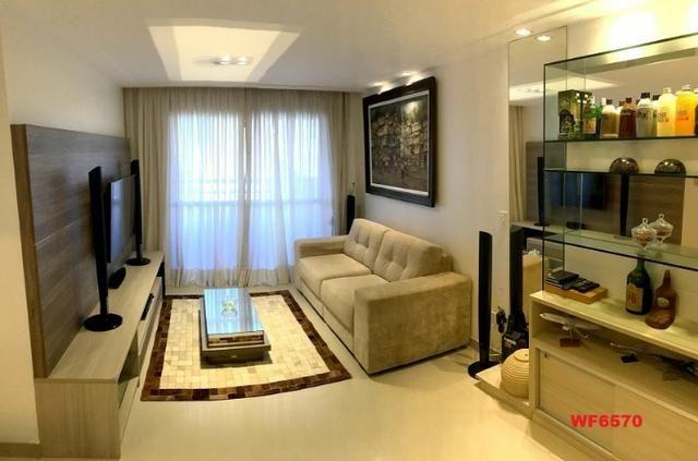 AP0967 Torre Espanha, apartamento na Aldeota, 3 suítes, móveis projetados, 2 vagas - Foto 3