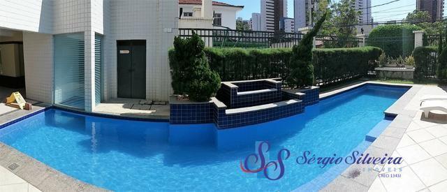 Apartamento no Meireles com 3 quartos e vista mar área de lazer!