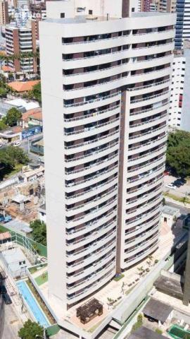 Marées Residence, Meireles, 74m², 3 quartos, Apartamento à venda próximo a Beira Mar