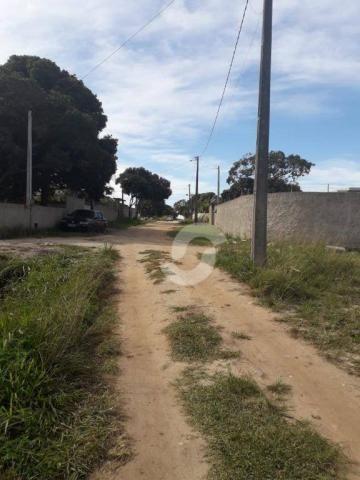 Terreno à venda, 450 m² por r$ 71.000,00 - jaconé - saquarema/rj - Foto 4