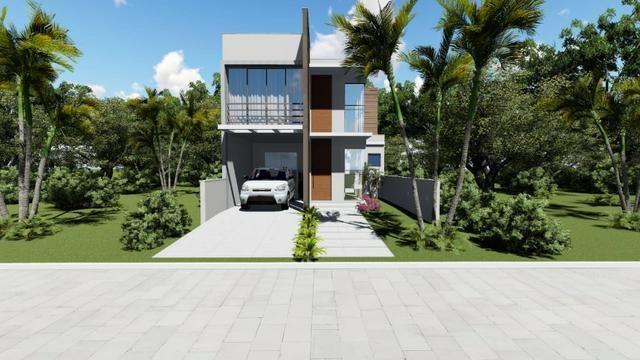 Casa para exigentes, lindo sobrado 130m² - Avalia carro no negócio - Foto 2