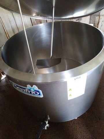 Resfriador reafrio 500 litros, ordenhadeira dois conjuntos - Foto 2