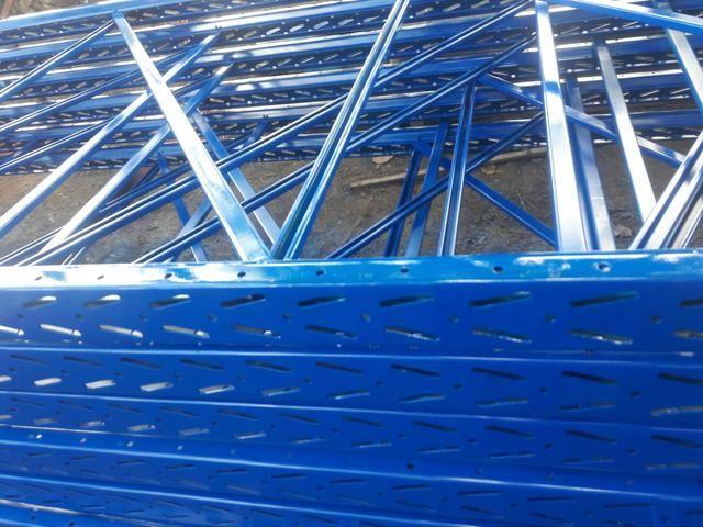 Porta palete com 4,62mts paletes, pallets, pallet - Foto 2