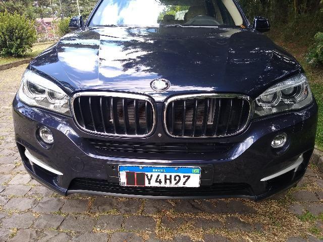 BMW X5 L6 Turbo 306cv 4X4 Zf 8marchas Teto Novisssima Unica no R.S - Foto 6