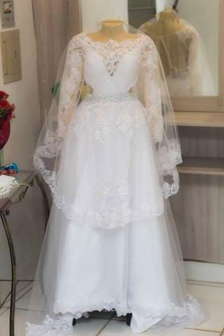 Vestido de Noiva, Sapatos e Acessórios