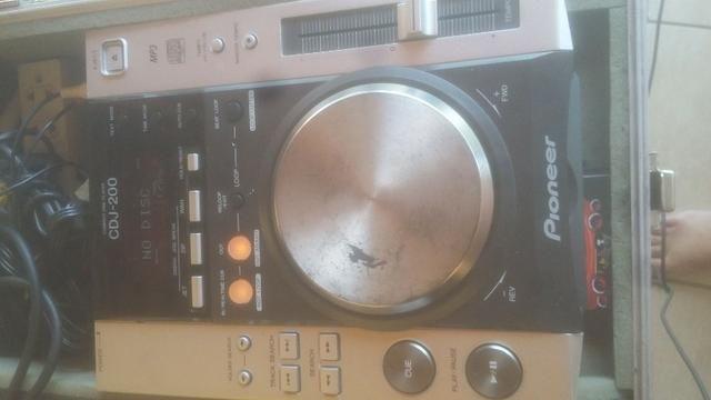 Par de cdj pionner 200 + mixer + case - set completo. **linktr.ee/pimentasonorizacao - Foto 2