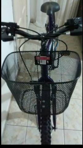 Bicicleta feminina nova - Foto 3